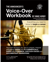 The Voiceworx Announcer's Voice-Over Workbook